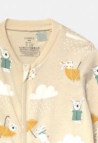 Lindex - RABBIT STORY UNISEX - Pyjamas - light beige - 2