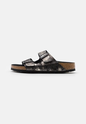 ARIZONA  - Mules - vintage metallic/black