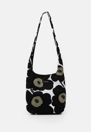 CLOVER BAG - Across body bag - white/black