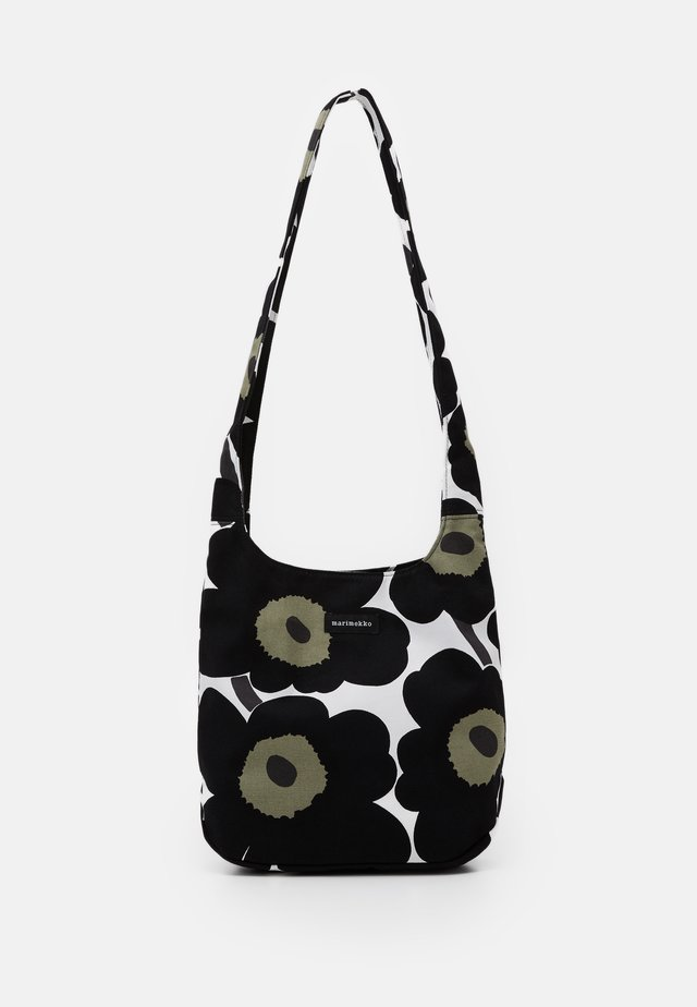 CLOVER BAG - Borsa a tracolla - white/black