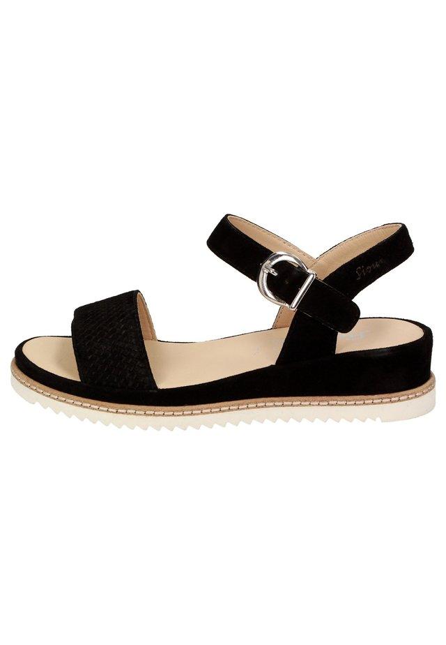 ACHARA - Sandales - schwarz