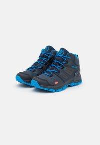 TrollKids - KIDS RONDANE MID UNISEX - Hiking shoes - navy/medium blue - 1