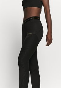 Nike Performance - Tights - black/gold - 4