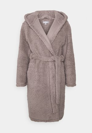 ROBE WITH SIDE POCKETS - Badjas - taupe