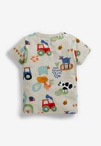Next - 3 PACK  - Print T-shirt - yellow - 4