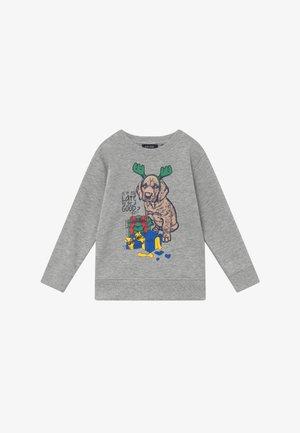 KIDS CHRISTMAS DOG  - Sweatshirt - nebel