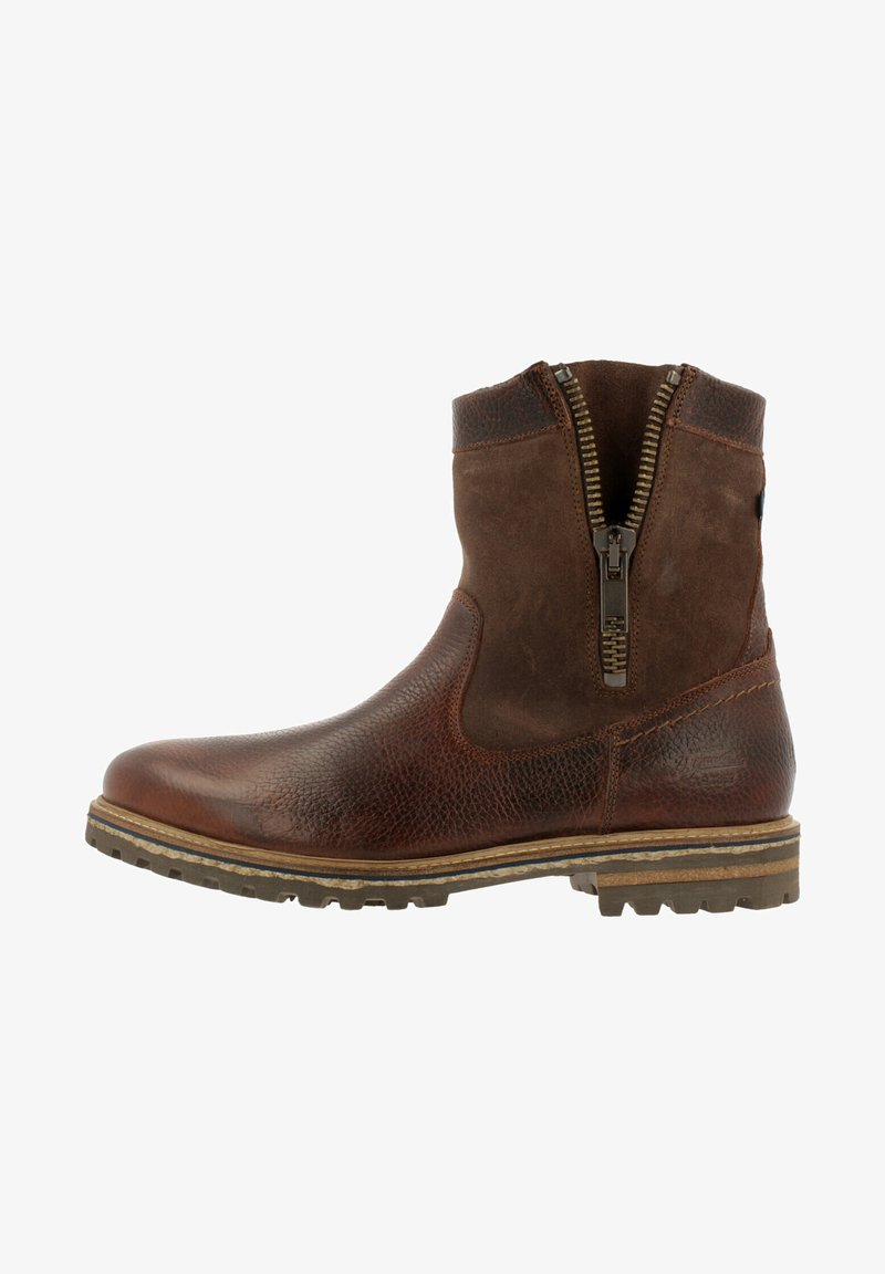 Gaastra - ANKLE BOOT/BOOTIE CASTOR HGH TMB - Cowboy/biker ankle boot - brown