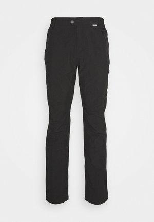 HIGHTON WINTR - Outdoorové kalhoty - black