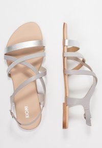 KIOMI Wide Fit - Sandals - silver - 3