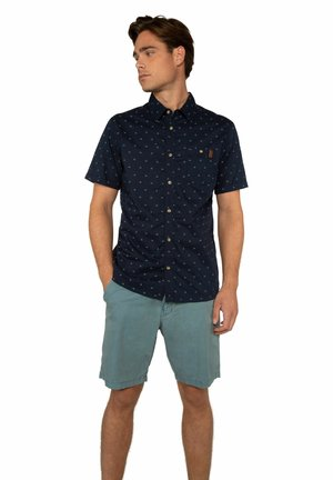 FAN - Shorts - washed blue