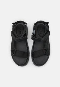 NA-KD - Sandales de randonnée - black - 5