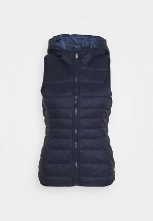 ONLNEWTAHOE QUILTED WAISTCOAT TALL - Vest - night sky