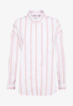 CORE CHINO STRIPE  - Button-down blouse - blush