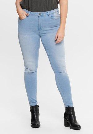 Skinny džíny - light blue
