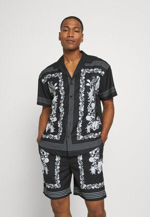 BORDER REVERE SHIRT - Skjorter - black