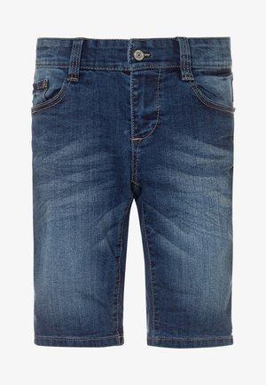BERMUDA - Denim shorts - rinse wash