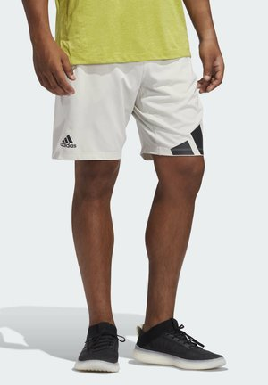 4K 3 BAR DESIGNED4TRAINING PRIMEGREEN SHORTS - Sports shorts - grey