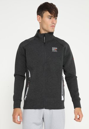 GYM TECH - Zip-up hoodie - dunkelgrau