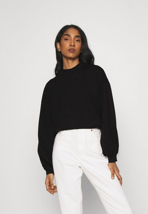 VMALFIE DROP SHOULDER - Long sleeved top - black