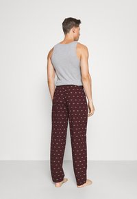 Pier One - Pyjamabroek - bordeaux - 2