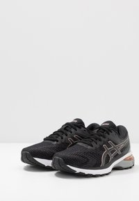 ASICS - GT-2000 8  - Stabilty running shoes - black/rose gold - 2