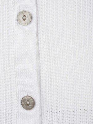 Cardigan - weiß