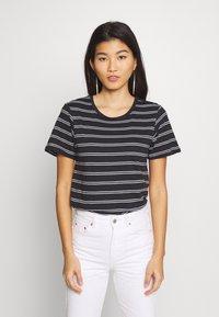 Anna Field - 2 PACK - Print T-shirt - black/multicoloured - 1