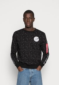Alpha Industries - NASA TAPE - Sweatshirt - black - 0