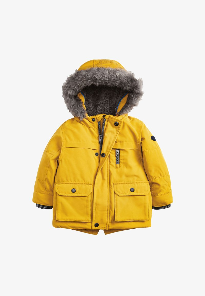 Next - Parka - yellow
