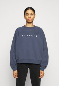 BLANCHE - HELLA EXCLUSIVE - Sweatshirt - indigo/white - 0