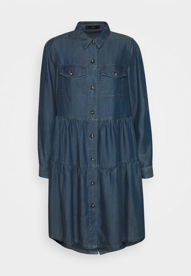 HAMPTONS WEEKEND DRESS - Denim dress - hip indigo