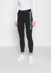 Hollister Co. - TIMELESS LOGO - Joggebukse - black - 0