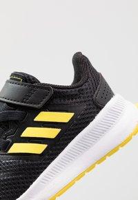 adidas Performance - RUNFALCON I UNISEX - Neutral running shoes - core black/shock yellow/footwear white - 2