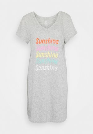 SLEEPSHIRT - Nightie - heather grey