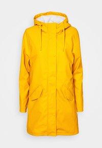 ONLY Tall - ONLSALLY RAINCOAT - Parka - golden yellow - 4