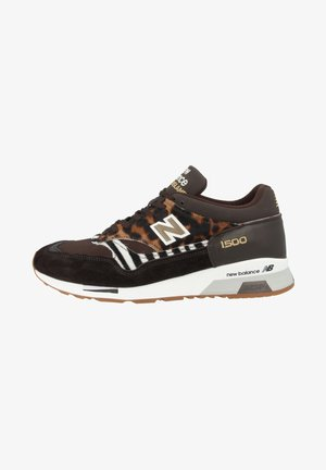Trainers - brown-black-white
