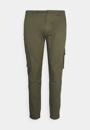 PLUS PANT - Cargo trousers - green