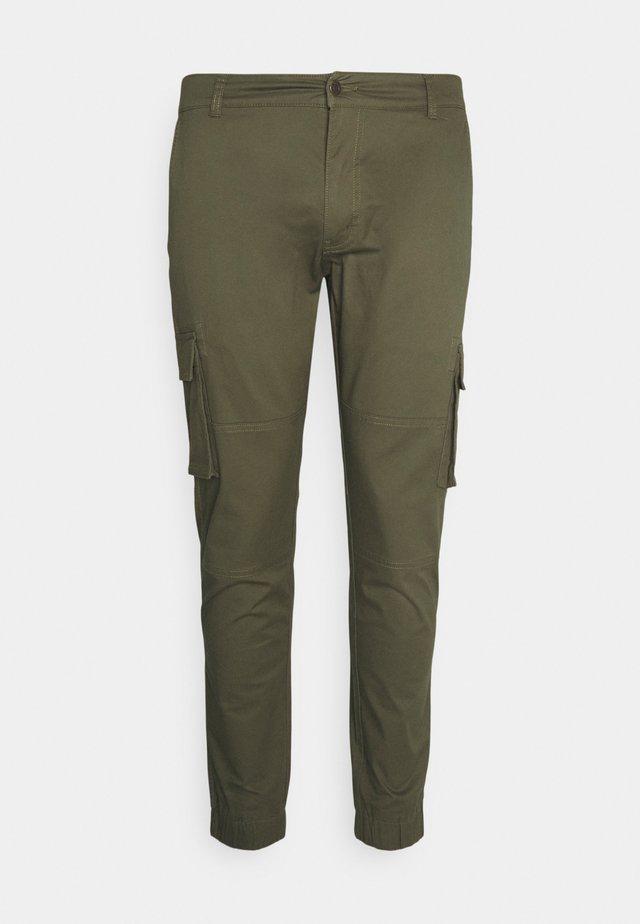 PLUS PANT - Pantalon cargo - green