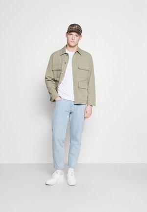 5 PACK - Maglietta a manica lunga - white/dark blu/grey