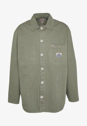 LEE OVERSHIRT - Košile - dark green