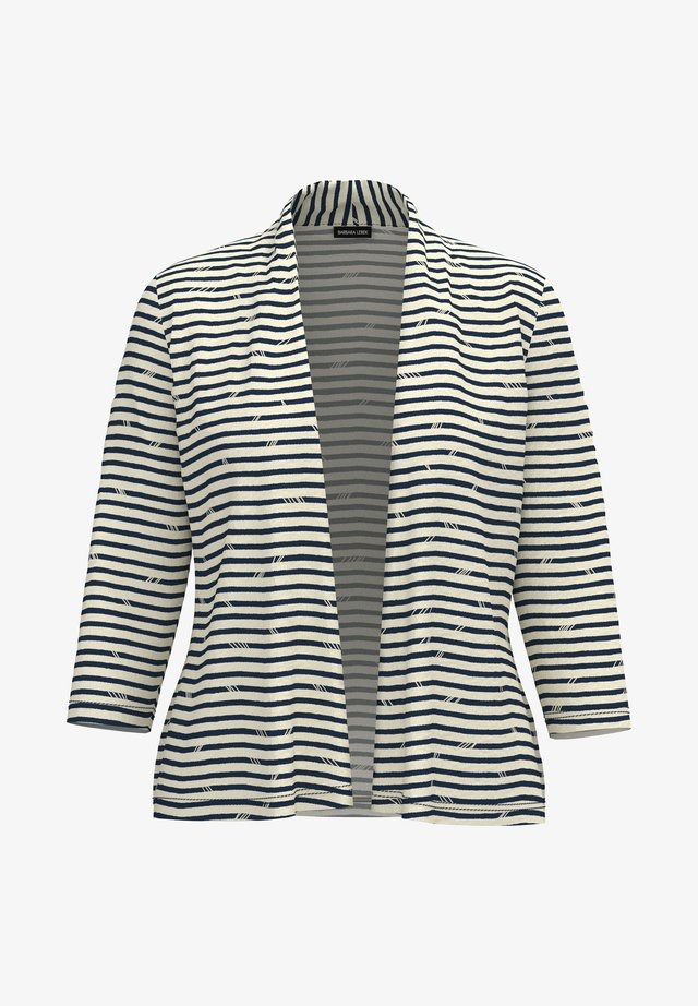 Blazer - stripes denimblue / panna cotta