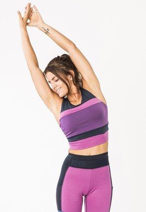 Sports bra - violet
