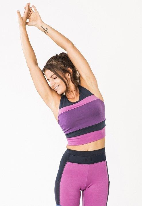 super.natural - Sports bra - violet