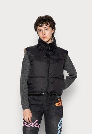 ALES REVERSIBLE VEST - Vest - black