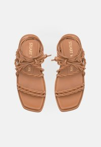 Stuart Weitzman - CALYPSO LACE UP - Sandals - tan - 4