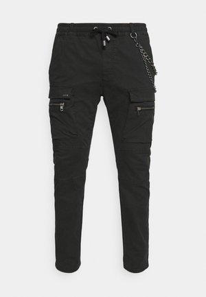 FRYCO - Pantaloni cargo - vintage black