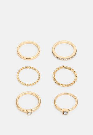 FOR EVERY FINGER 6 PACK - Ring - gold-coloured