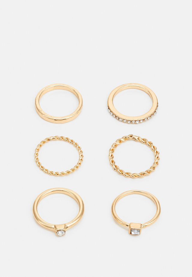 FOR EVERY FINGER 6 PACK - Bague - gold-coloured