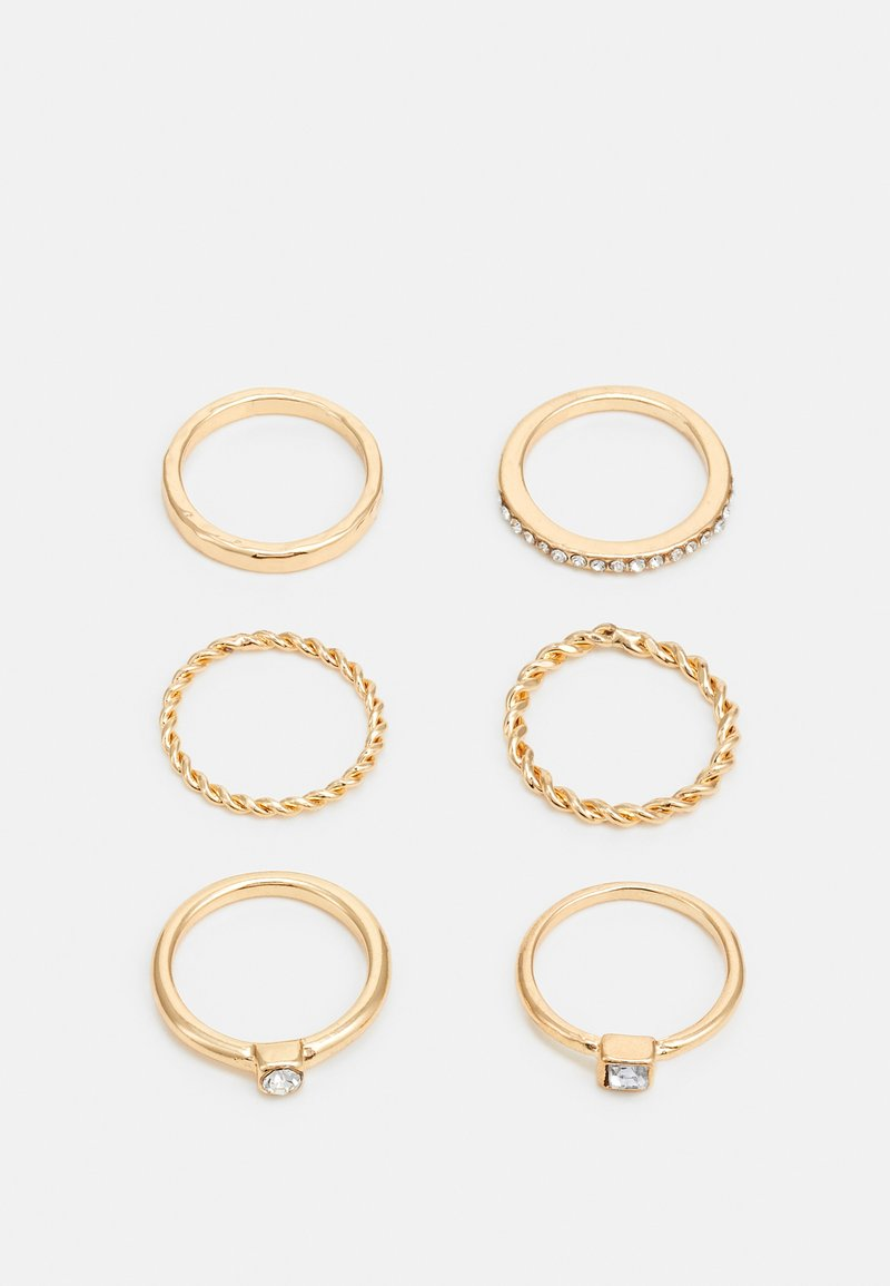 sweet deluxe - FOR EVERY FINGER 6 PACK - Pierścionek - gold-coloured