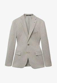 Mango - Blazer jacket - open beige - 5